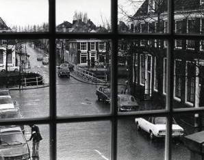 GAWfoto03790 Foto vanuit Stadhuis Weesp van Historisch Centrum Vecht en Venen