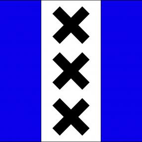 Het wapen van Weesperdam, eh, ik bedoel Amsterdam