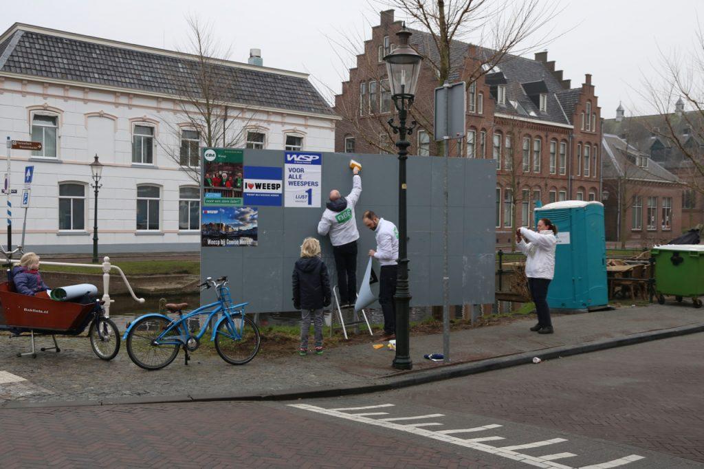 Plakken op de Nieuwstad